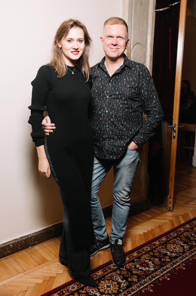 Андрей Колесников с женой Дарьей