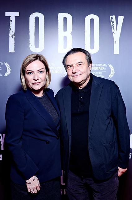 Ольга Любимова и Алексей Учитель
