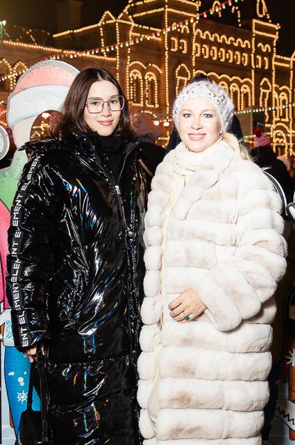 Дина Немцова с матерью Екатериной Одинцовой