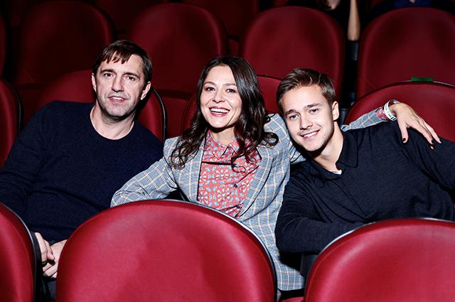 Владимир Вдовиченков и Елена Лядова с братом Антоном Лысенко
