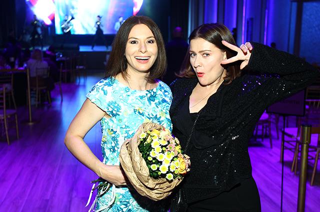 Ирина Лачина и Мария Голубкина