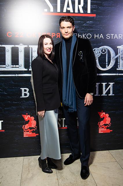 Ирина Сосновая и Максим Матвеев