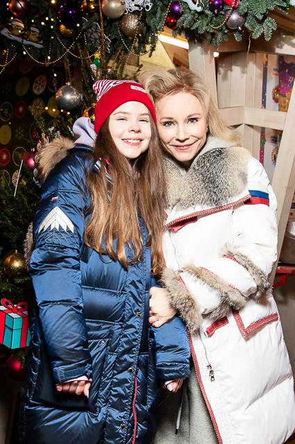 Марина Зудина с дочерью Марией