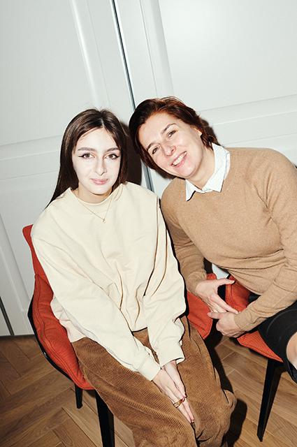 Тамара Тотибадзе и Ольга Шестерикова