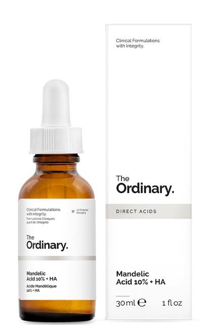 Сыворотка с миндальной кислотой Mandelic Acid 10% + HA, The Ordinary