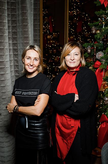 Оксана Бондаренко и Маша Федорова