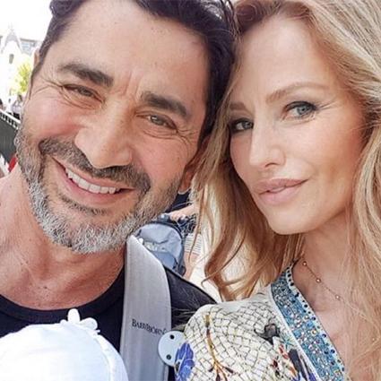 Адриана Скленарикова с мужем Арамом Оганяном
